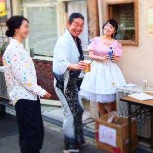 ぐぅ1周年イベント ちんどん通信社 ちんどんジャズライブ