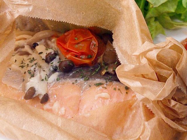 鮭の包み焼き